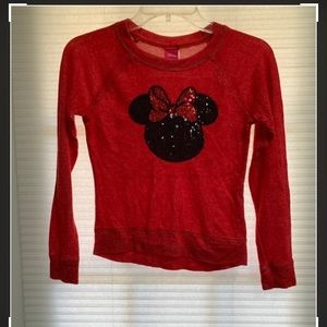 Girl's Minnie Mouse Red Top